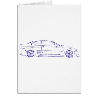 BMW E46 Classic Card