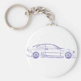 BMW E46 Classic Keychain