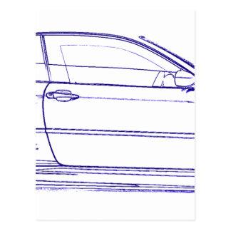 BMW E46 Classic Postcard