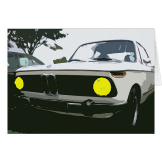 BMW Greetings Card