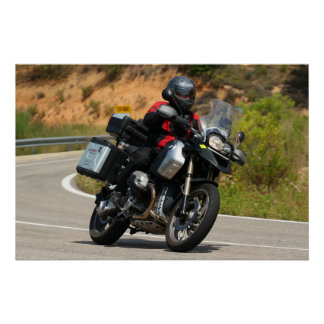 bmw GS 1200 r Poster