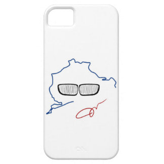 BMW Kidney Grill / Nurburgring Edition (White) iPhone 5 Cover