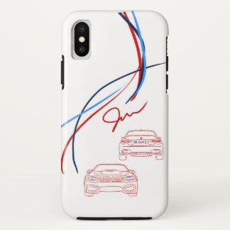 BMW M3/M4 Stripes iPhone X Case