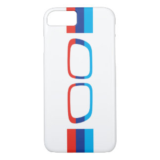 BMW M stripes and kidneys iPhone 8/7 Case
