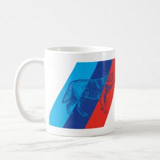 BMW M Wolf Classic White Coffee Mug