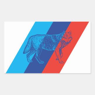 BMW M Wolf Rectangular Sticker