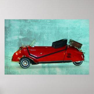 BMW Messerschmitt Poster