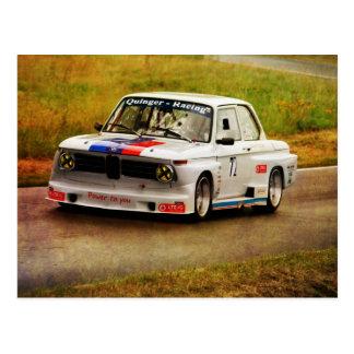 BMW Racing Tarjetas Postales