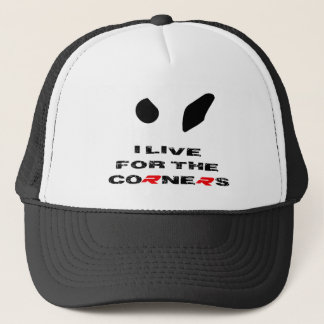 BMW S1000RR I live for the corners apparel Trucker Hat