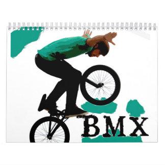 BMX 2013 Calendar, Copyright Karen J Williams