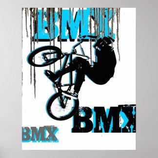 BMX 22, Copyright Karen J Williams Poster