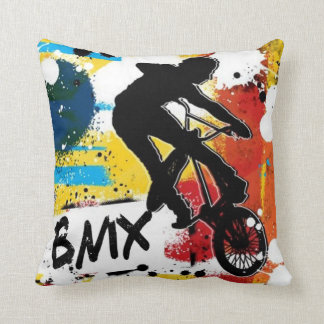 BMX 2 Sided Pillow