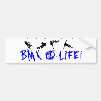 BMX 4 Life Bumper Sticker Car Bumper Sticker