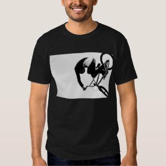 bmx abstract (dark) shirt