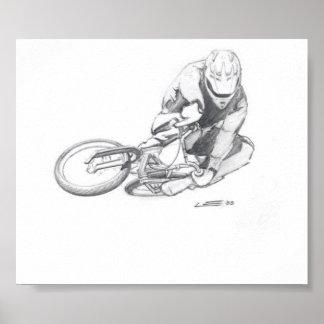 BMX art #9 poster