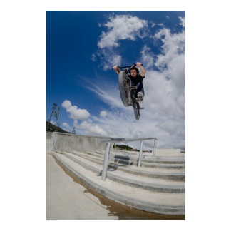 Bmx big air jump posters