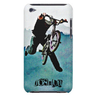 BMX bike freestyle trick stunt rider iPod Case-Mate Cases