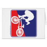 BMX Bike rider Card