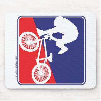 BMX Bike rider Mouse Pad