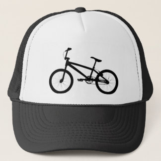 BMX Bike Silhouette Trucker Hat