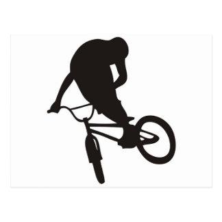 bmx- bike sports freestyle.jpg postcard