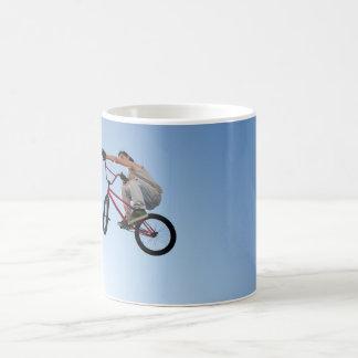 BMX Bike Stunt Table Top Coffee Mug