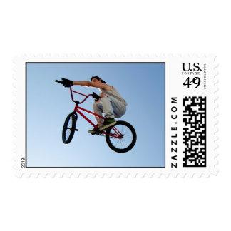 BMX Bike Stunt Table Top Postage
