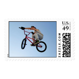 BMX Bike Stunt Table Top Stamps