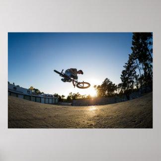 BMX Bike Stunt Table Top Posters