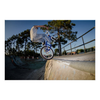BMX Bike Stunt tap Posters
