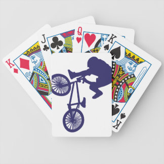 BMX Biker Bicycle Playing Cards