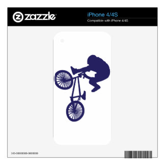 BMX Biker Skin For The iPhone 4