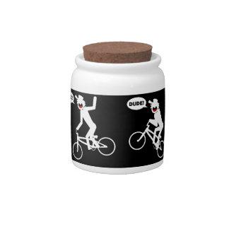 BMX Candy Jar-4 Candy Dish