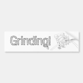 BMX Cartoon Bumper Sticker
