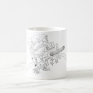 BMX Cartoon Coffee Mug