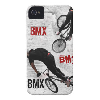 BMX Case, Copyright Karen J Williams iPhone 4 Case-Mate Cases