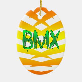 Bmx Ceramic Ornament