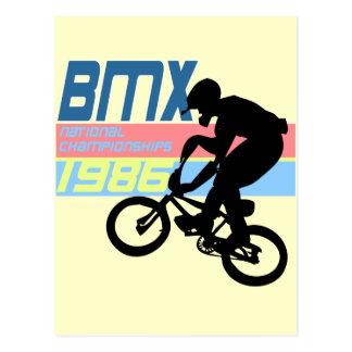 BMX Championships 1986 Postcard