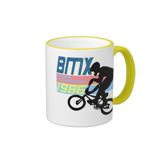 BMX Championships 1986 Ringer Mug