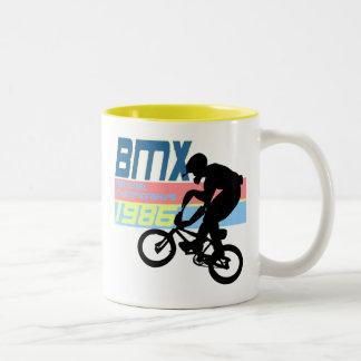 BMX Championships 1986 Two-Tone Coffee Mug