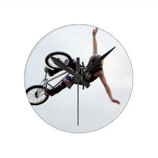 BMX clock 1, Copyright Karen J Williams