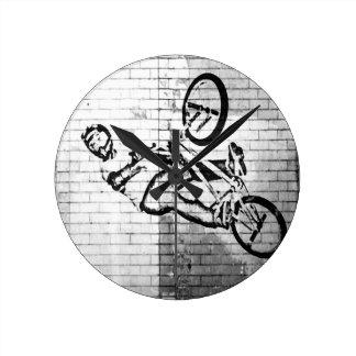 BMX Clock 2,  Copyright Karen J Williams