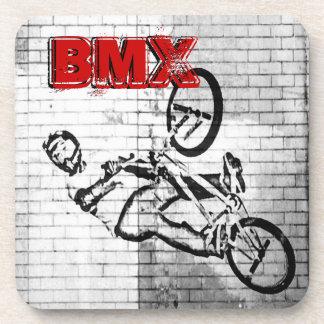 BMX, Coasters, Copyright Karen J Williams Drink Coaster