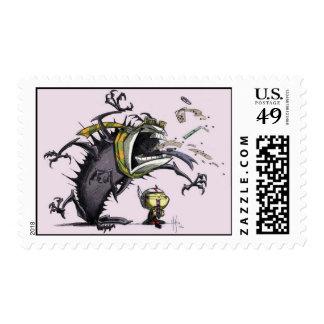BMX Demon Catcher I Stamp