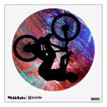 BMX en Grunge oxidado