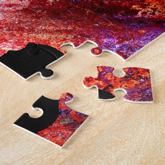 BMX en Grunge oxidado Puzzles