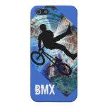 BMX en un túnel del Grunge iPhone 5 Carcasa