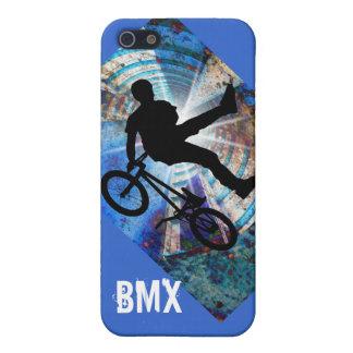 BMX en un túnel del Grunge iPhone 5 Cárcasas