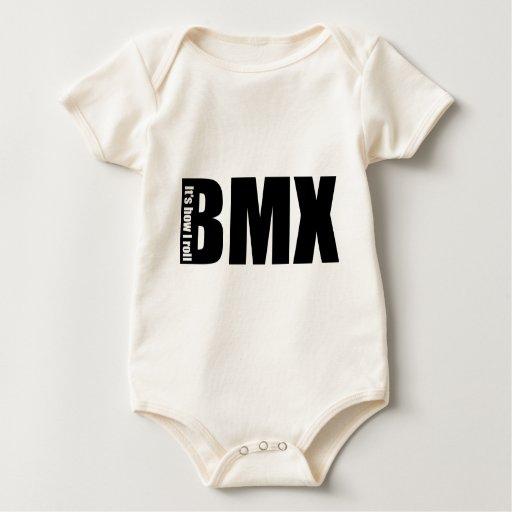 BMX - Es cómo ruedo Mameluco De Bebé