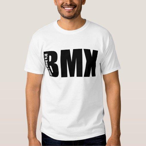 BMX - Es cómo ruedo Remeras